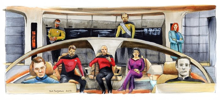 Star Trek The Next Generation 25th Anniversary