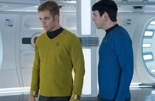 Into Darkness, Kirk e Spock