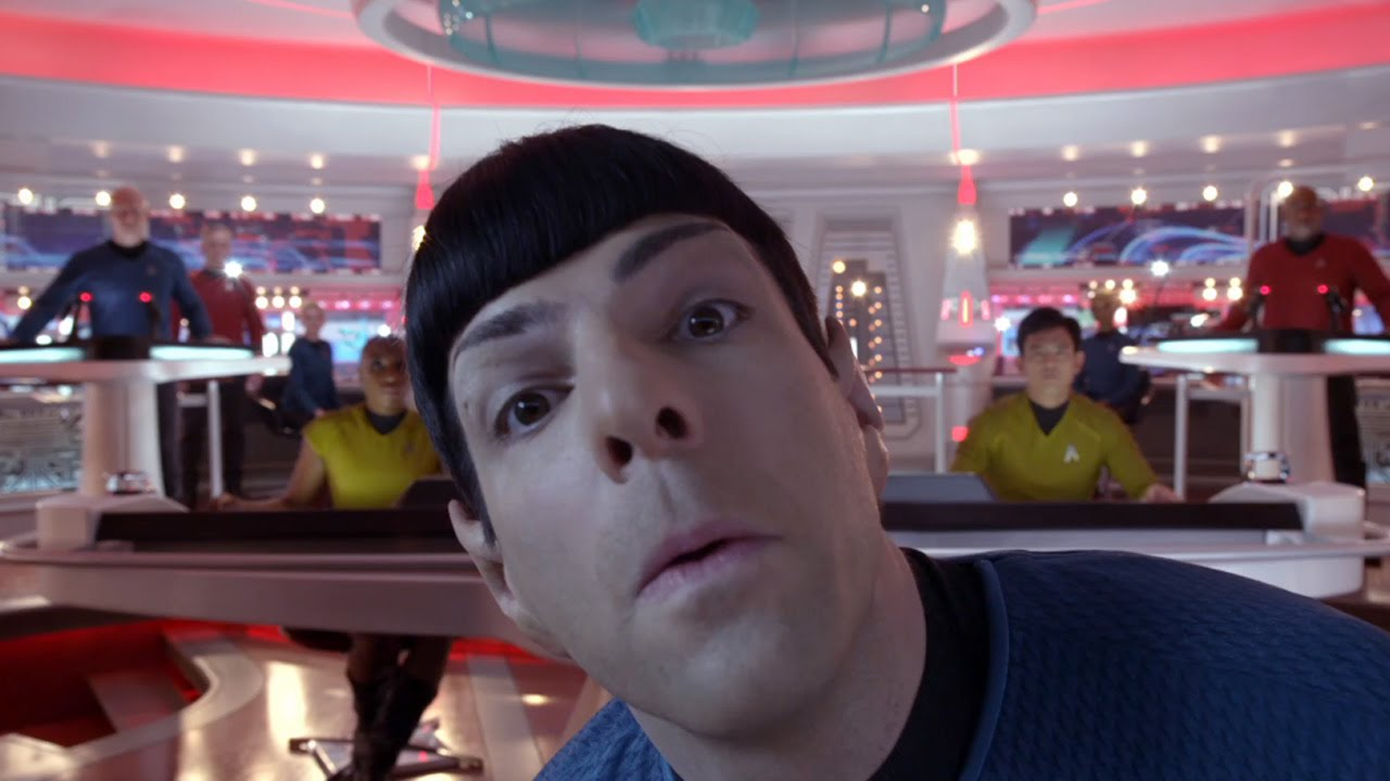 Image result for Star Trek into Darkness Bloopers