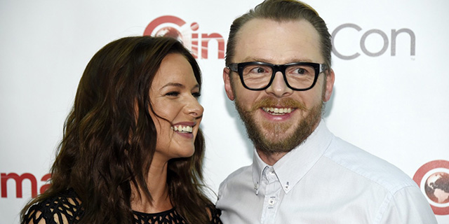 Simon Pegg al CinemaCon