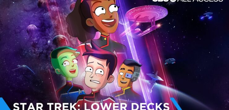 Star Trek, arriva su Prime Video la serie tv animata Lower Decks, il trailer